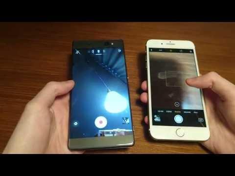 iPhone 7 Plus vs Xperia XA Ultra Speed Test & Camera Speed