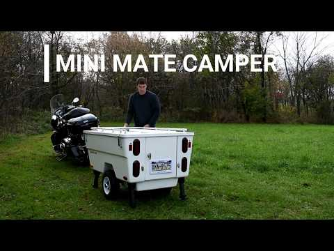 Motorcycle Camper Trailer: The Mini Mate Camper by Kompact Kamp Trailers