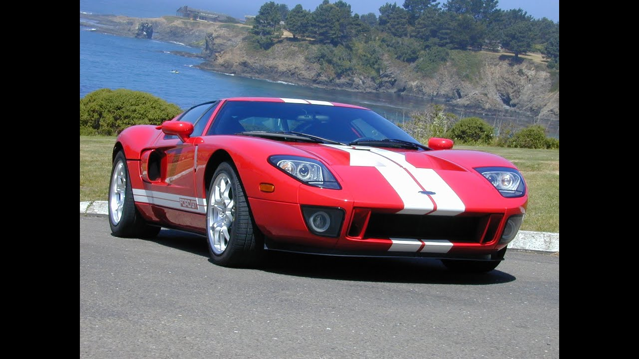 2005 ford gt video review