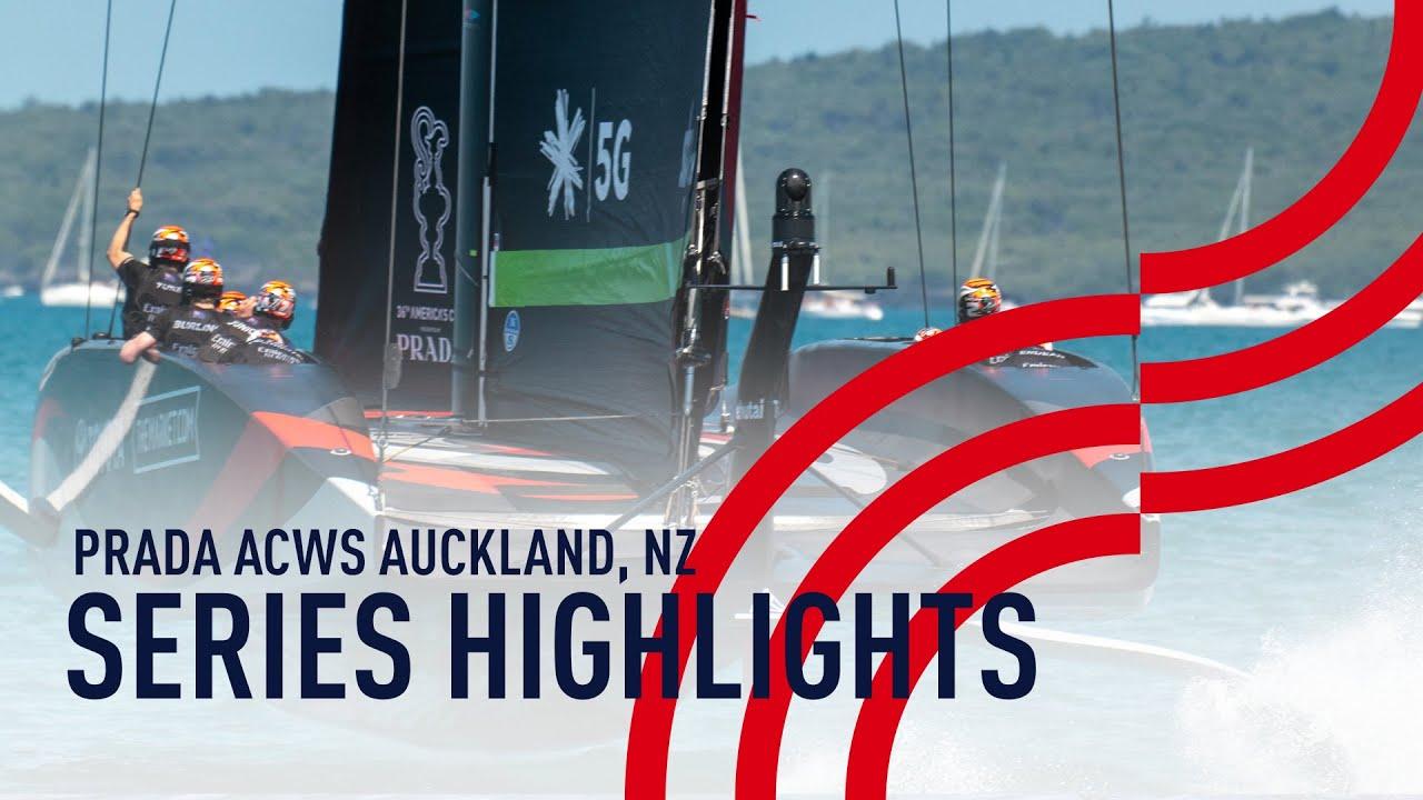 Series Highlights | PRADA ACWS Auckland