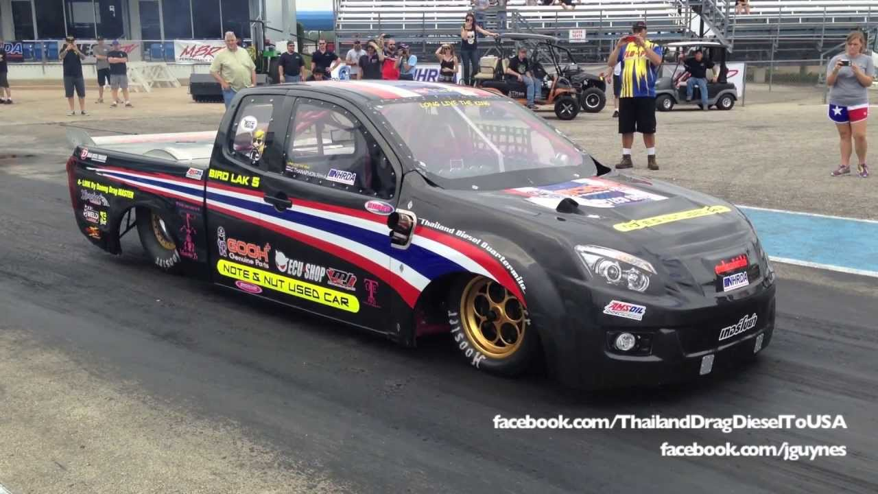 Team thailand diesel drag 8 2 164mph hd youtube