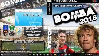 CONFIGURANDO BOMBA PATCH 2014-2015 E  2016 EMULADOR PS2 1.5  60 FPS !! 1000000%