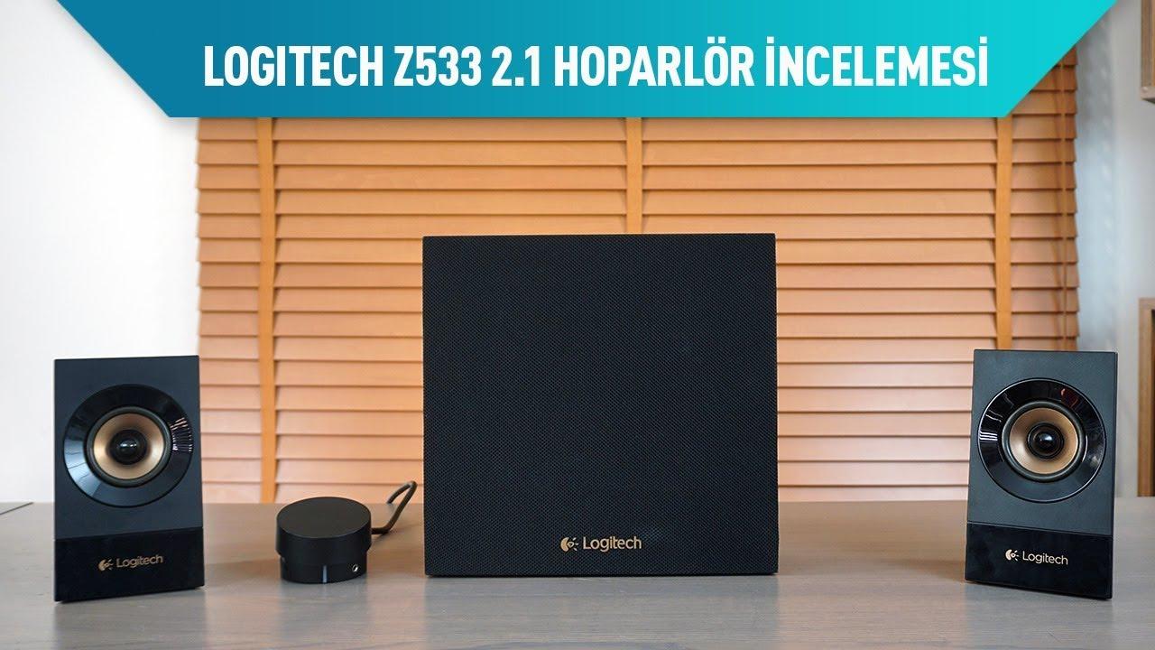 Logitech Z533 ve Z333 İncelemesi