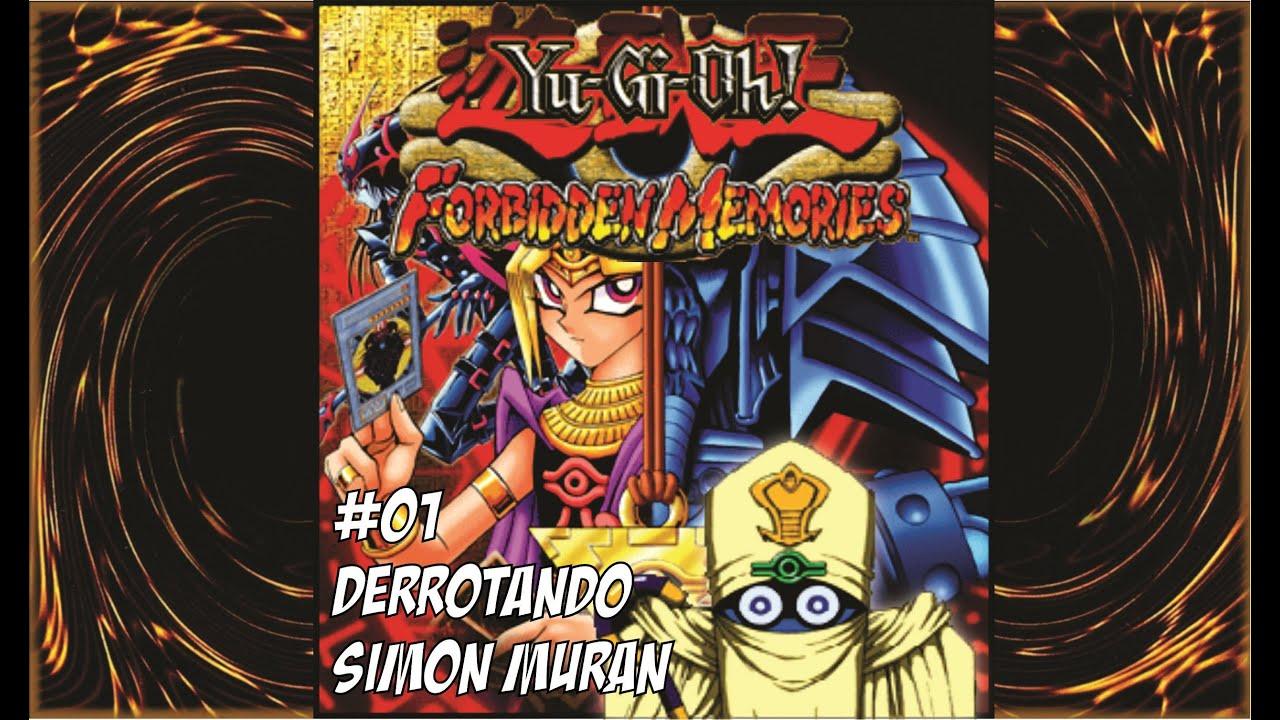 yu gi oh: forbidden memories #01 - derrotando simon muran