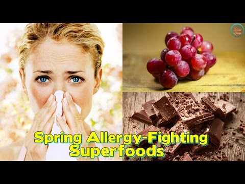 Spring Allergy Fighting Superfoods