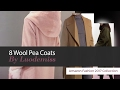 8 Wool Pea Coats By Luodemiss Amazon Fashion 2017 Collection