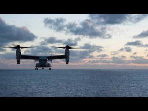3 US Marines missing after Osprey mishap