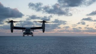 3 US Marines missing after Osprey mishap