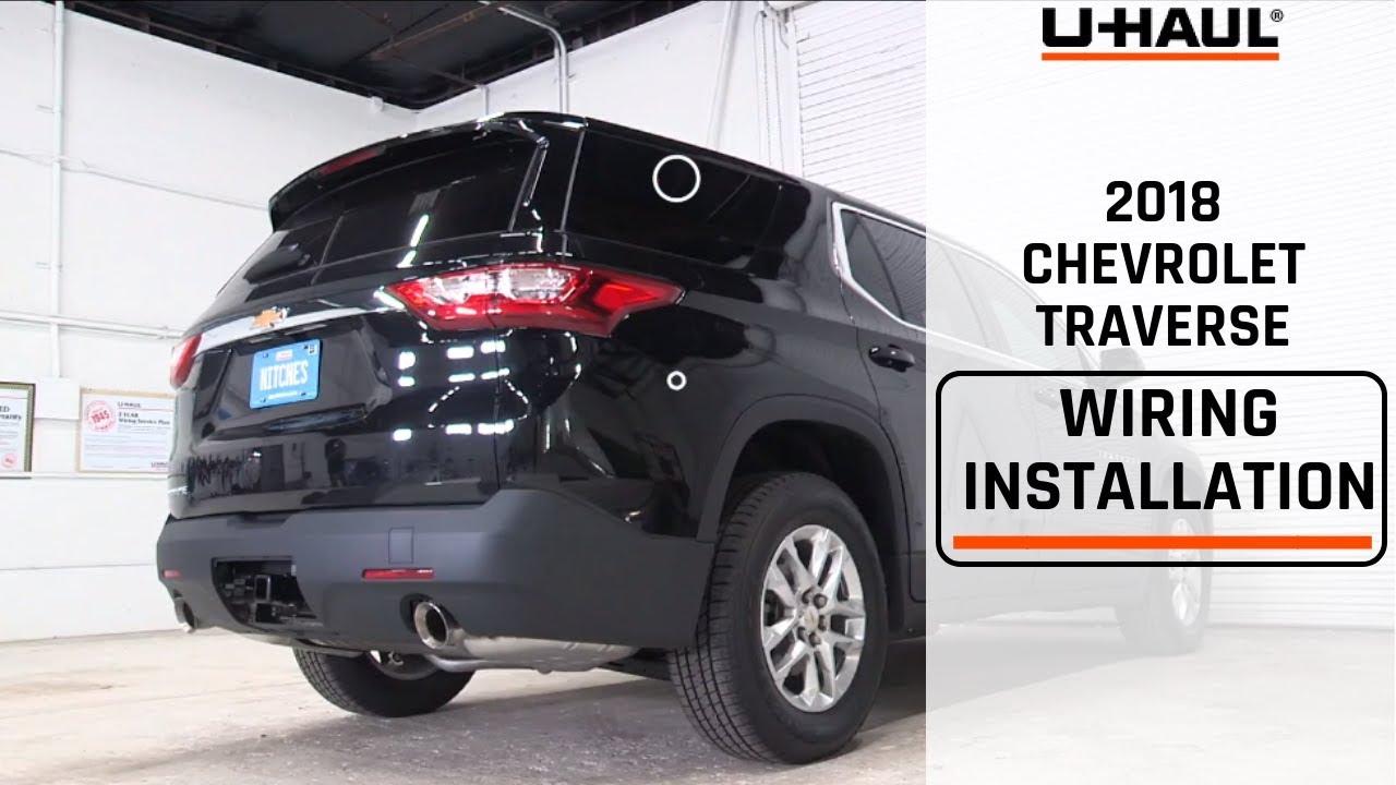 2018 Chevrolet Traverse Wiring Harness Installation