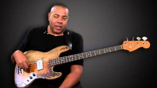 JamPlay.com instructor Brent-Anthony Johnson brings you a bass less...