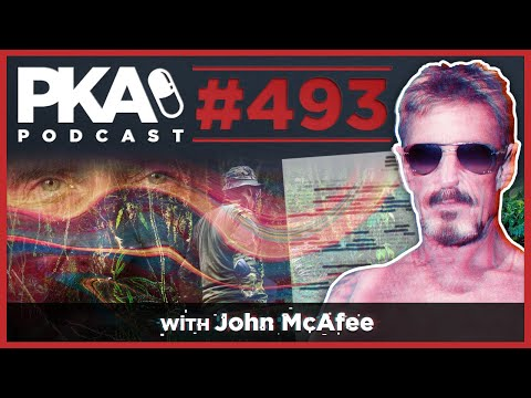 PKA 493 W/ John McAfee - Kyle Has Cancer, John Flees Murder Charges, Crazy Stories