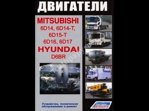 Инструкция + По Ремонту Двигателя Mitsubishi