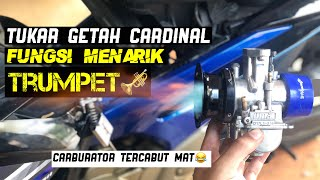 Download LC135   Getah Carburator Tercabut Beb! Tukar Getah Cardinals & Fungsi Trumpet Untuk Response Padu!