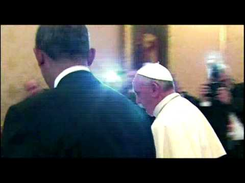 BT Vancouver: Obama and Pope Francis Meet