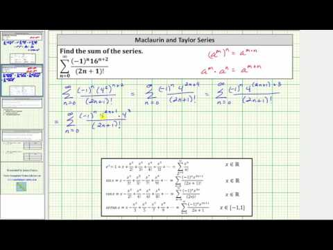 Find the Sum of an Infinite Series Using a Known Power Series (sin(x))
