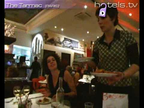 Paris Restaurants: Tarmac Restaurant - France Restaurants and Bars Hotels.tv