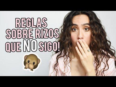 REGLAS DE CABELLO RIZADO QUE NO SIGO! | attaliadasbel