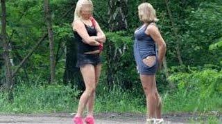 по чем проститутки в Украине ( торг на трассе )
