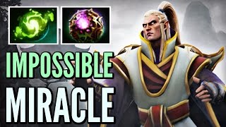 Miracle- Pro Invoker Gameplay Top 9k MMR Dota 2 - Impossible Comeback