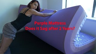 Does My Purple Mattress Sag After 2 Years?