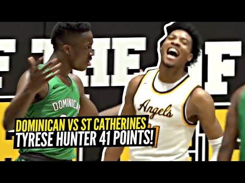 Alex Antetokounmpo & Dominican HUGE RIVALRY Vs Tyrese Hunter & St Catherines! Tyrese 41 POINTS!!