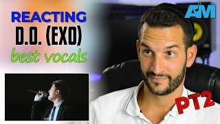VOCAL COACH reacts to EXO D.O.'s Best Vocals pt. 2