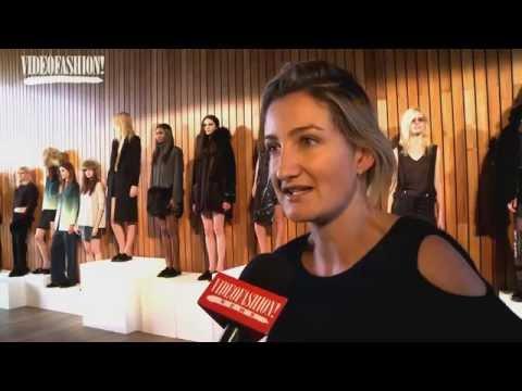 Designer Interview with Zoe Jordan : Fashion Show Videos - Autumn/Winter 2015-16