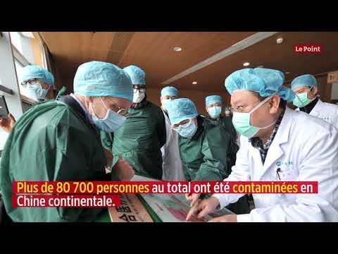 Coronavirus: large baisse des nouveaux cas en Chine et en Corée du Sud