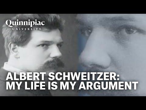 Albert Schweitzer: My Life is My Argument
