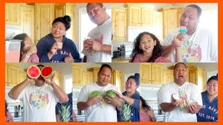 HOW TO: Easy Polynesian drink &amp Popsicle  COLLAB wThe Ohana Adventure!