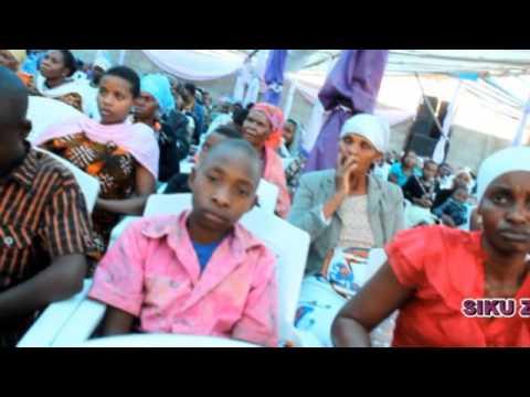 Shuhuda katika ibada iliyofanyika katika kanisa la YESU NI BWANA NA MWOKOZI WA MATAIFA YOTE