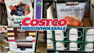 COSTCO GROCERY SHOP WITH ME FOODIE WALK THROUGH 2018