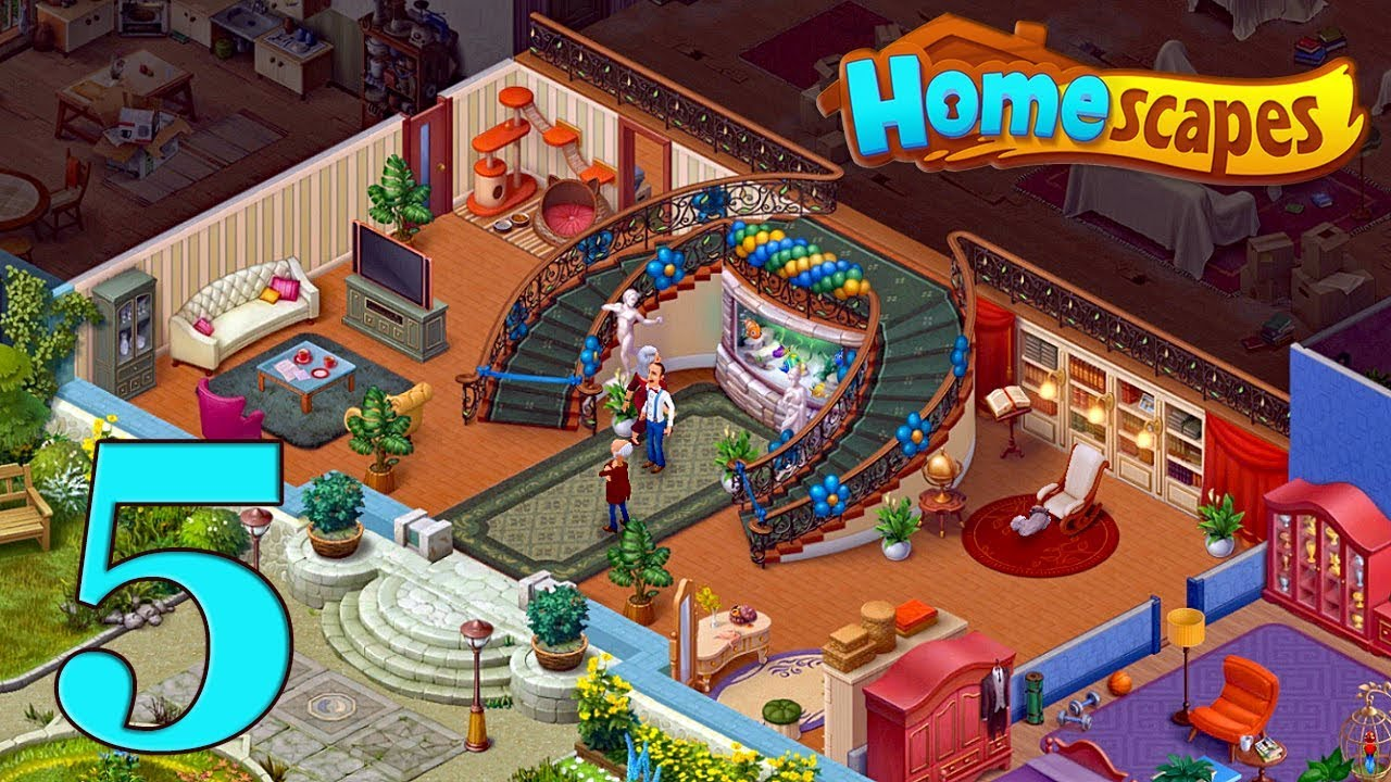 Knitting Story Homescapes : Homescapes gameplay story hall day youtube