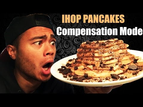 New Trainingblock - IHOP PANCAKES - Compensation for Savoury GOODNESS
