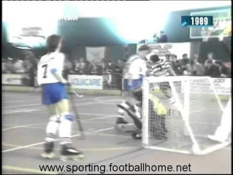 Hoquei Patins :: Kurink (Bélgica) - 3 x Sporting - 9 de 1988/1989 Taça dos Campeões 1ª ronda - 2ª Mão