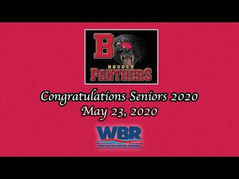Brusly High School Graduation 2020