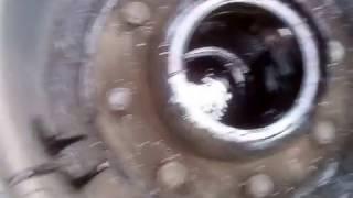 Замена шпильки заднего колеса ЗИЛ-130. Снятие тормозного барабана ЗИЛ-130.