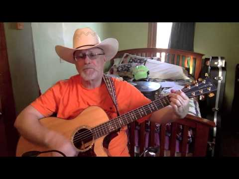 1780 -  Coca Cola Cowboy -  Mel Tillis vocal & acoustic guitar cover with chords