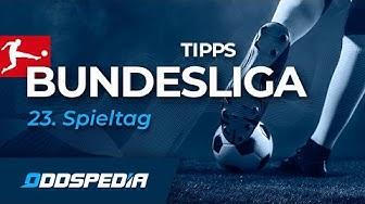 BUNDESLIGA VORHERSAGE - TIPPS #23: Unsere Prognose und Tipphilfe zum 23. Spieltag 2019/2020
