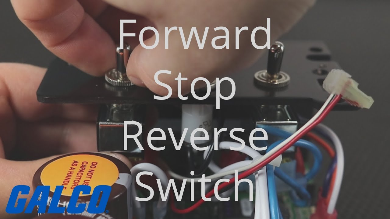 How To Install A Forward  Stop  Reverse Switch On Kb