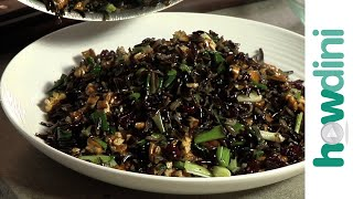 Wild rice salad recipe - Quick and easy wild rice salad with cranberry