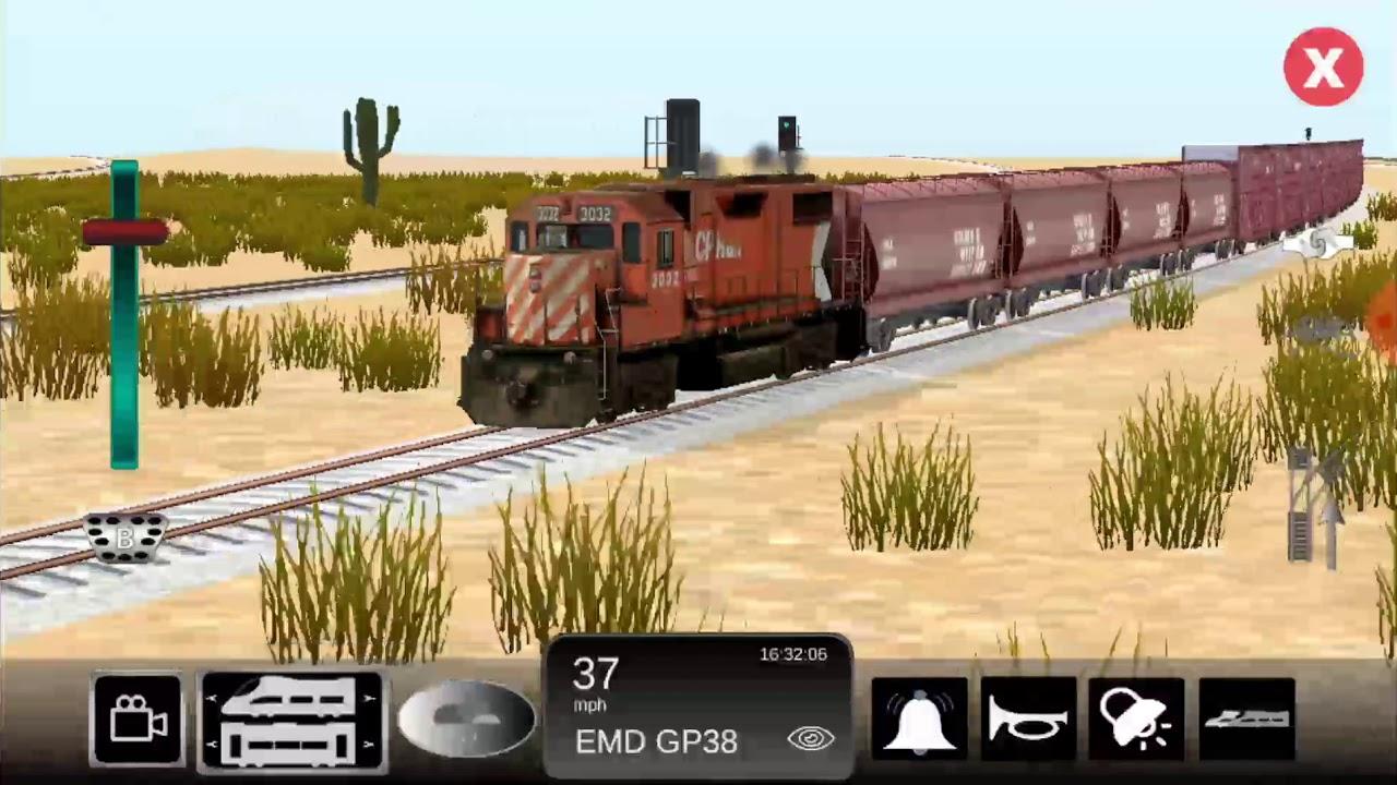 Game Simulator Kereta