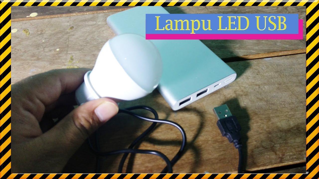 LAMPU USB LED UNTUK EMERGENCY KETIKA MATI LAMPU