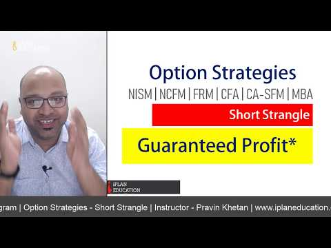 Option Strategies – Short Strangle | CFA, FRM, CA-SFM, NISM and NCFM –  आसान तरीका