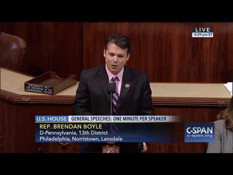 Congressman Boyle Recognizes the Multifaceted Problems of Wage Inequality