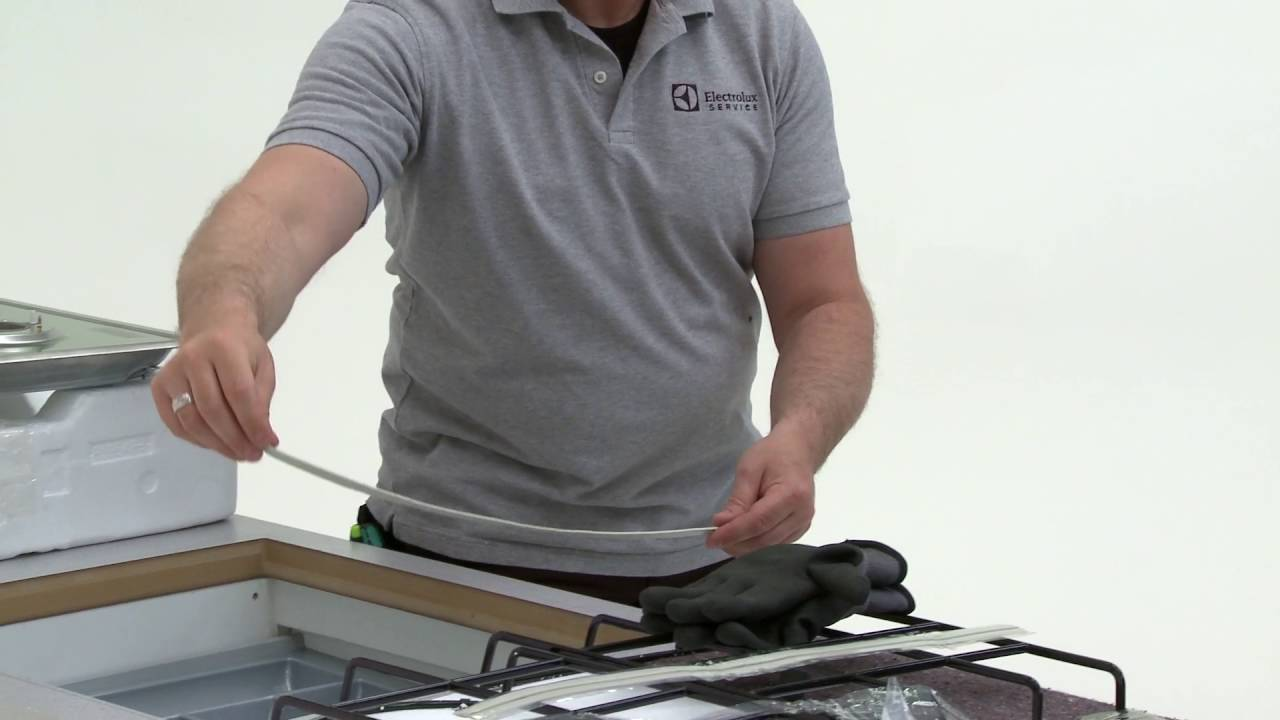 How To Install My Electrolux Gas Hob - Worktop Installation