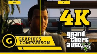 GTA V Graphics Comparison (PC/PS4/X1)