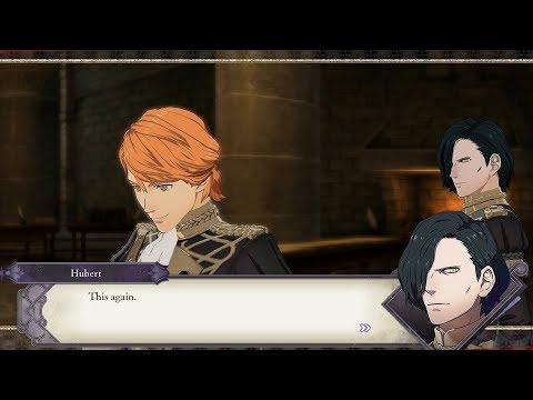 Ferdinand & Hubert Support Conversations - Fire Emblem: Three Houses [Switch]