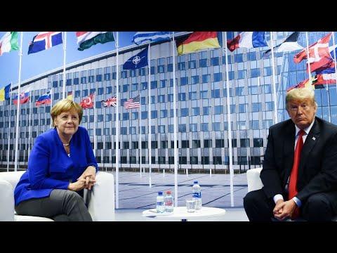 Charge anti-allemande de Trump au sommet de l'Otan