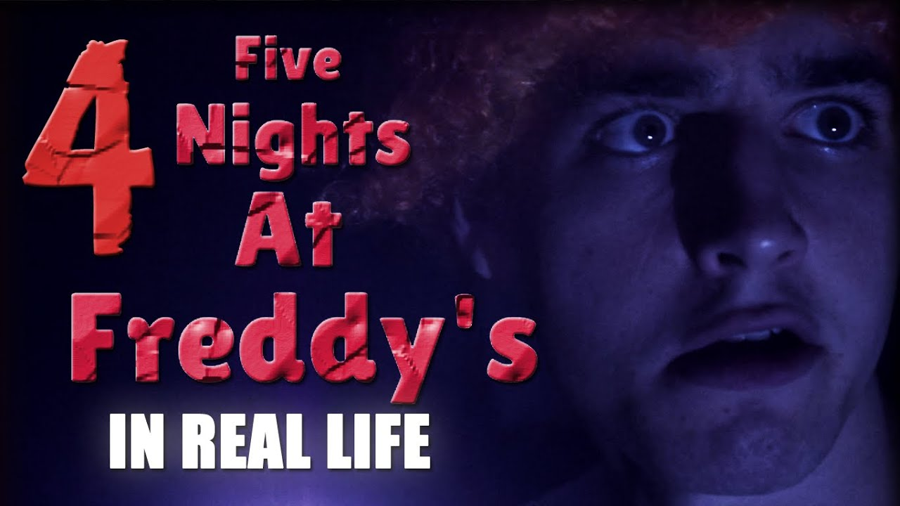 FIVE NIGHTS AT FREDDY'S IN REAL LIFE 4 | (FNAF En la vida ...